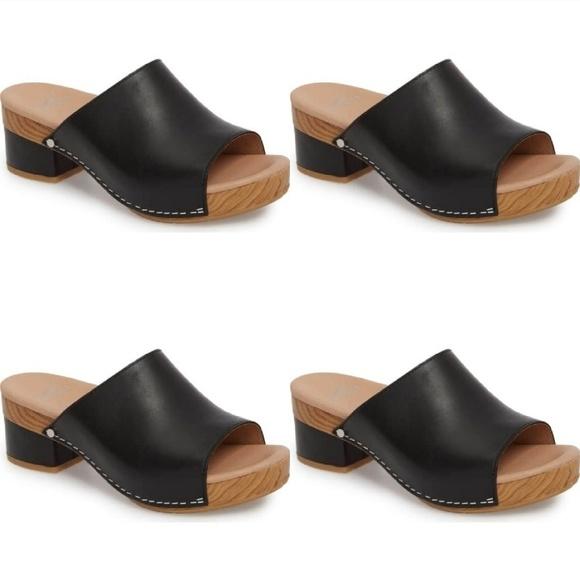 20eba094563 Dansko Shoes - DANSKO Maci Leather Mule Slide Size 36